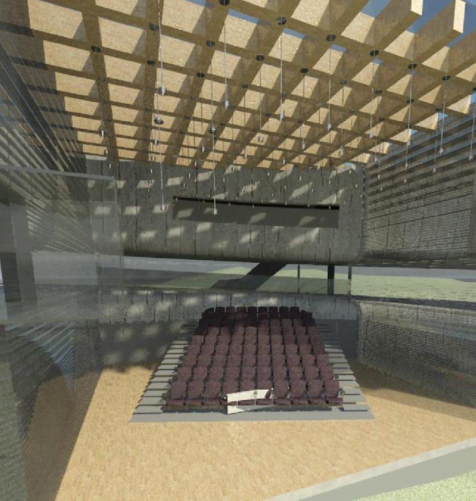 Render auditório